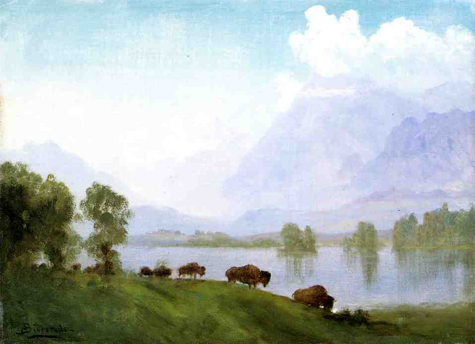 Bierstadt_Albert_Buffalo_Country
