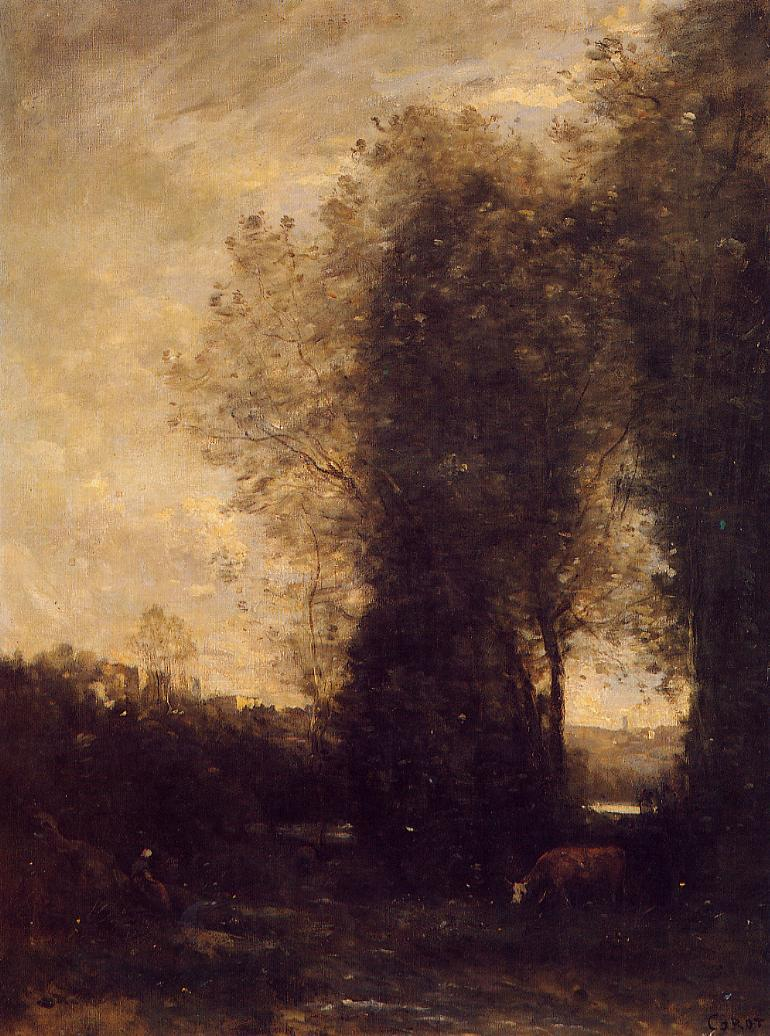 Corot_A_Cow_and_its_Keeper